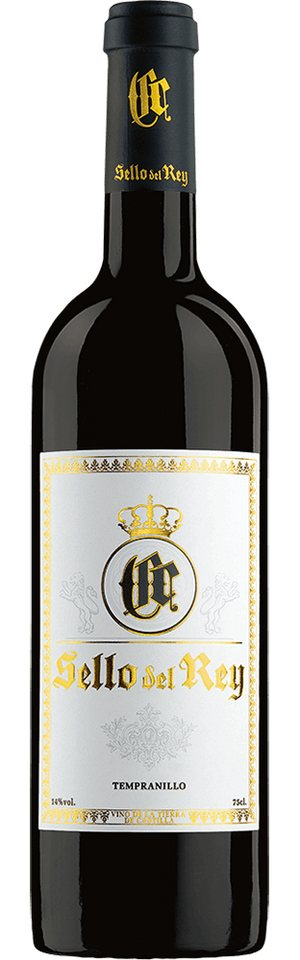 Rotwein aus Spanien, 14,0 Vol.-%, 75,00 cl »2011 Sello del Rey Tempranillo«