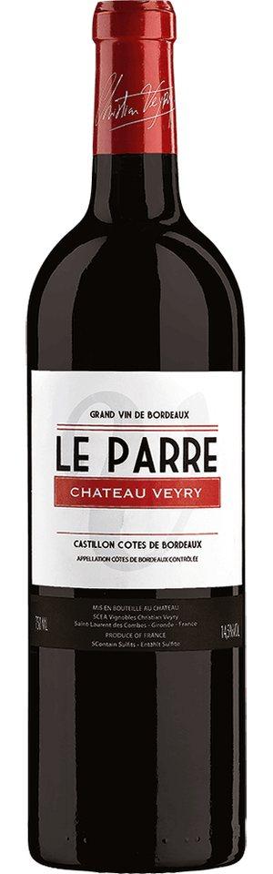 Rotwein aus Frankreich, 14,5 Vol.-%, 75,00 cl »2012 Le Parre Château Veyry«