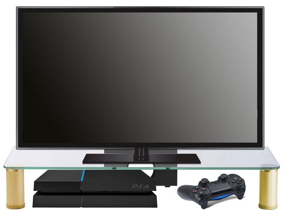 vcm tv aufsatz pocasa messing online kaufen otto. Black Bedroom Furniture Sets. Home Design Ideas