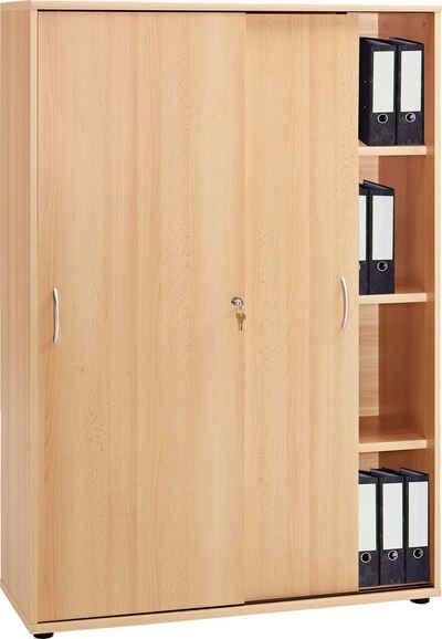 Aktenschrank abschließbar aldi  Büroschrank Holz | legriff.com