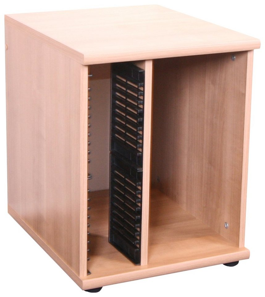 """VCM PC-Container """"Trenso 882"""" / Sideboard mit Ablage, Büro Regal in Nocce"""
