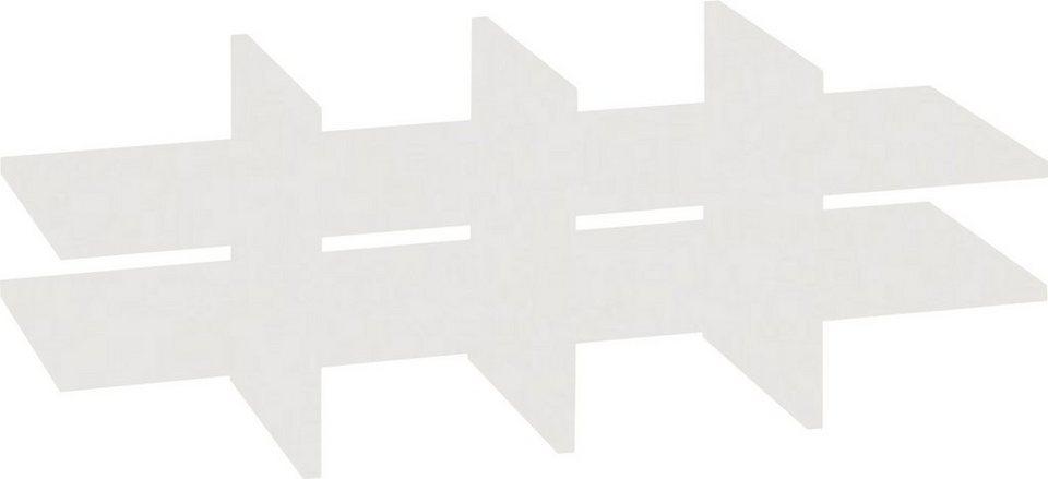 VCM Facheinteilung Braso 288 / Passend für Aktenregal Braso in Lichtgrau