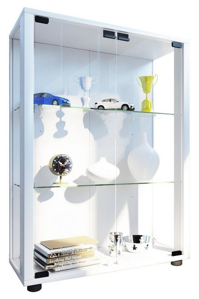 vcm glas stand vitrine sintalo online kaufen otto. Black Bedroom Furniture Sets. Home Design Ideas