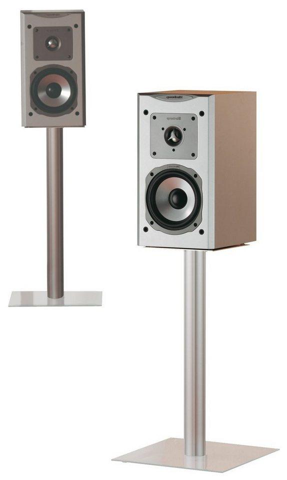 "VCM 2x Lautsprecherstand ""Boxero Mini"" in Klarglas"