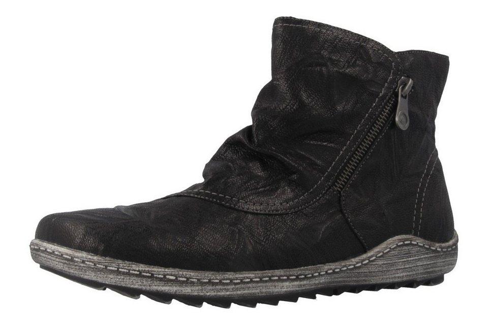 Remonte Boots in Schwarz