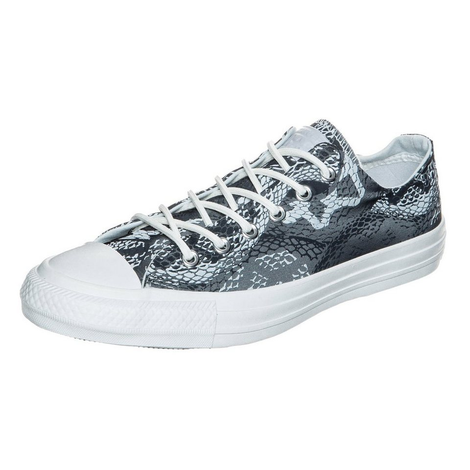 CONVERSE Chuck Taylor All Star OX Sneaker Damen in grau / weiß