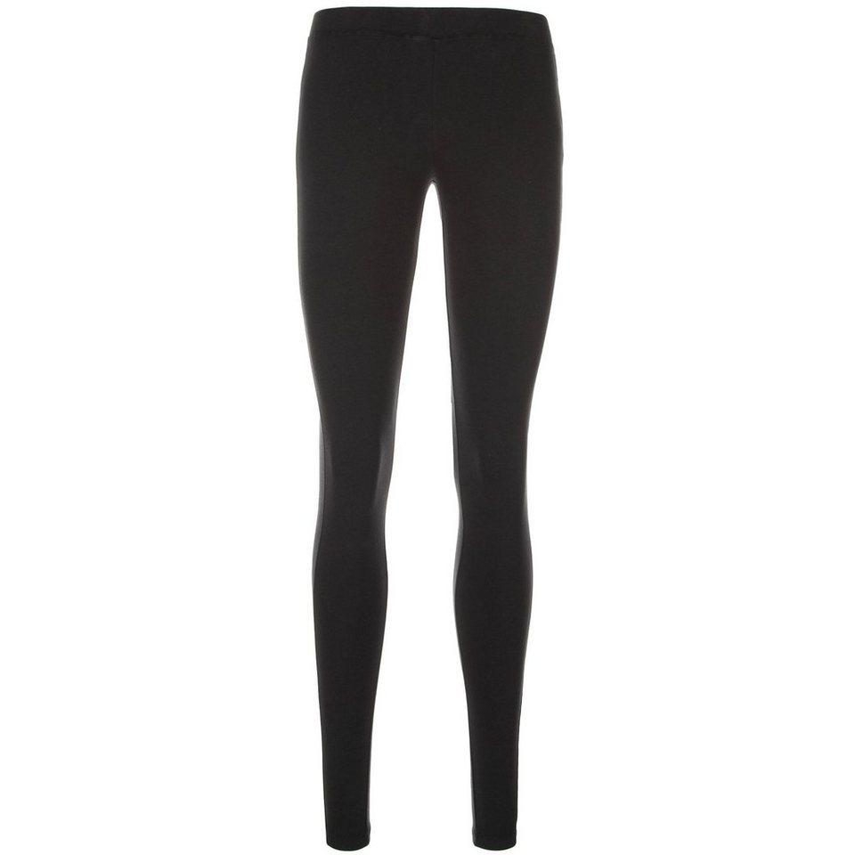 CONVERSE Stencil Legging Damen in schwarz / weiß