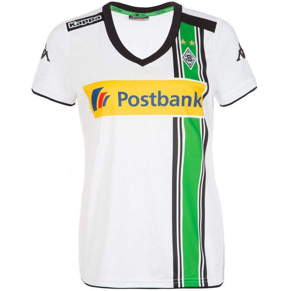 KAPPA Borussia Mönchengladbach Trikot Home 2015/2016 Damen in weiß / schwarz