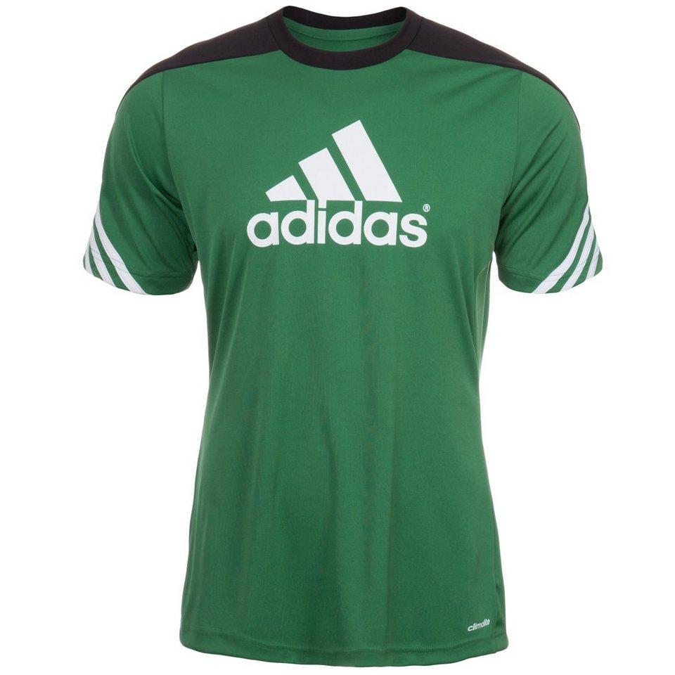adidas Performance Sereno 14 Trainingsshirt Herren in grün / schwarz