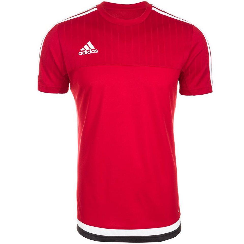 adidas Performance Tiro 15 Trainingsshirt Herren in rot / weiß