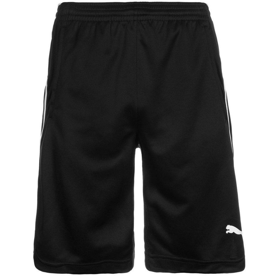 PUMA Football Short Herren in schwarz / weiß