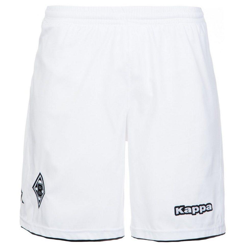 KAPPA Borussia Mönchengladbach Short Home 2015/2016 Herren in weiß / schwarz