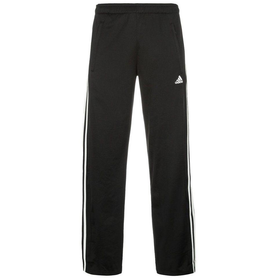 adidas Performance Essentials Trainingshose Herren in schwarz / weiß