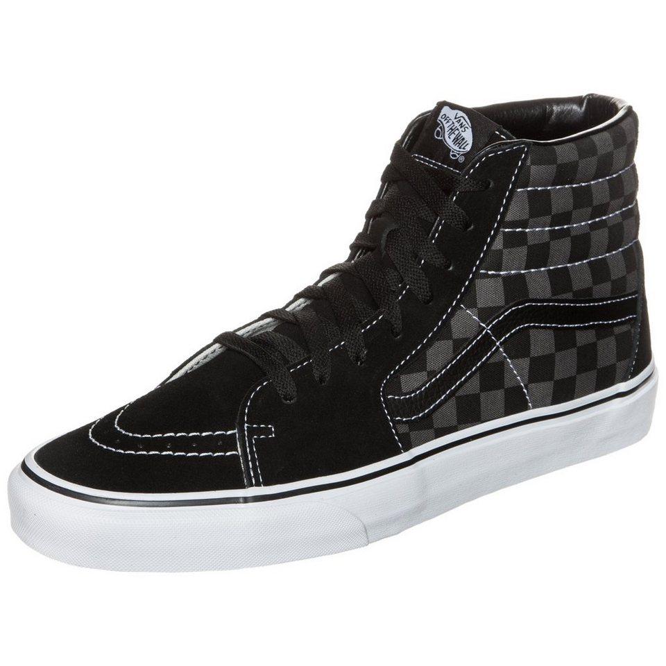 VANS Sk8-Hi Checkerboard Sneaker Herren in schwarz / grau