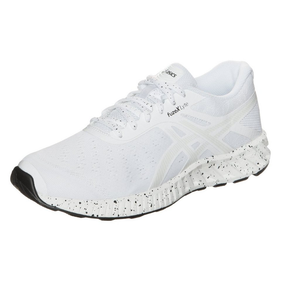 ASICS fuzeX Lyte Laufschuh Damen in weiß / schwarz