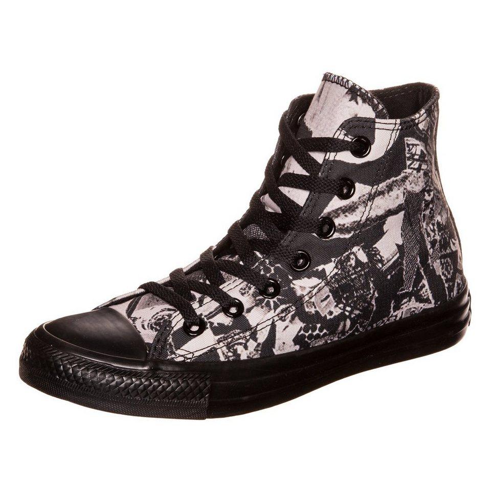 CONVERSE Chuck Taylor All Star High Sneaker Damen in schwarz / beige