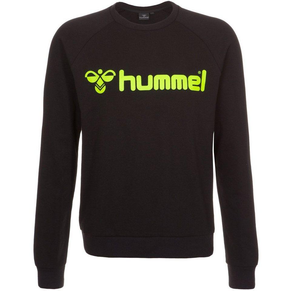 HUMMEL TEAMSPORT Classic Bee Crew Sweatshirt Herren in schwarz