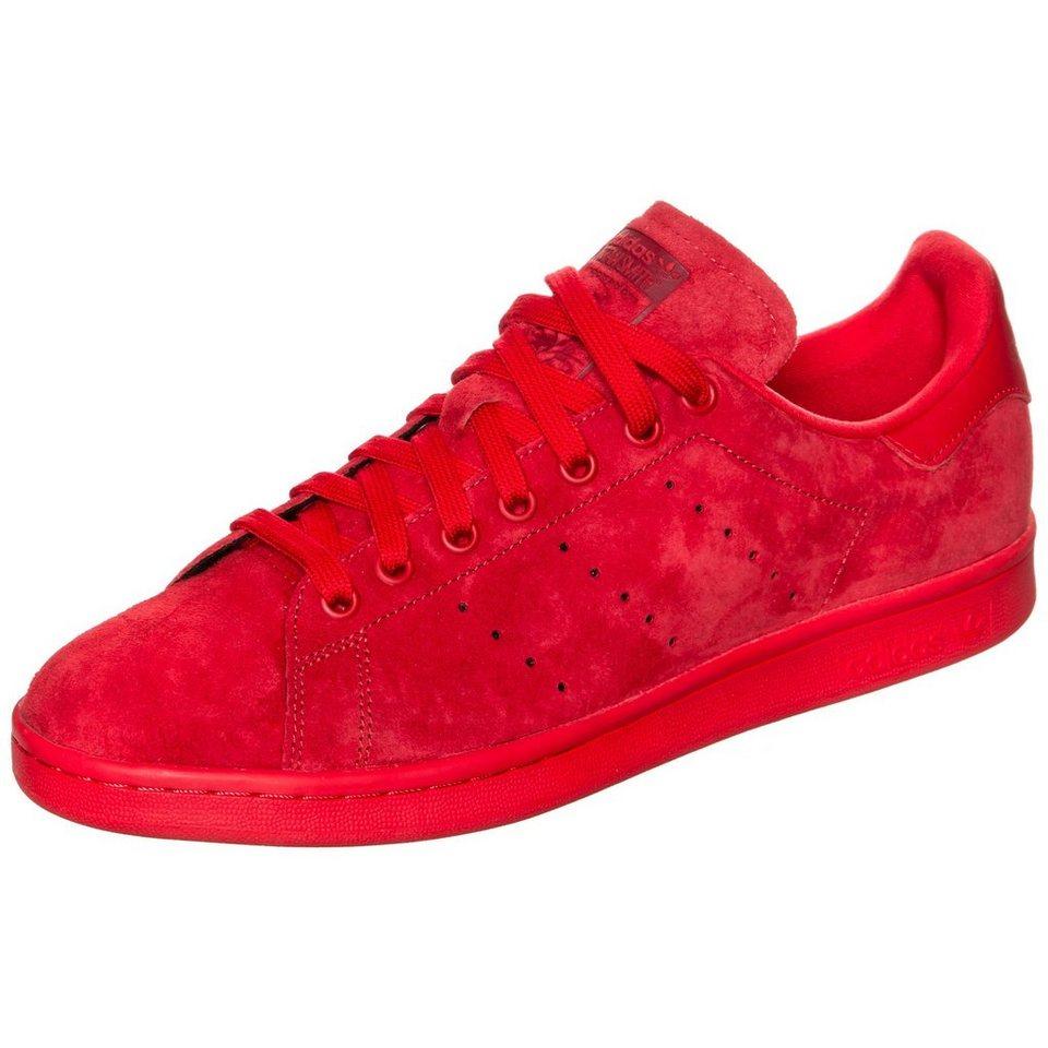 adidas Originals Stan Smith Sneaker in rot