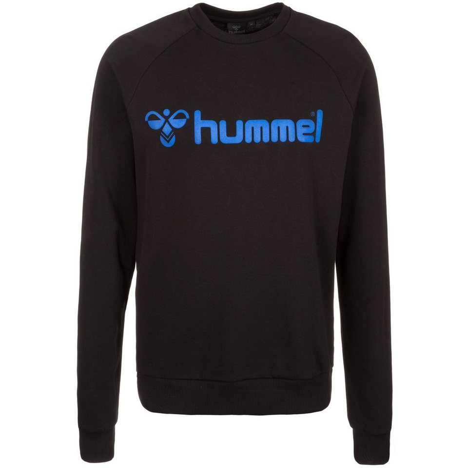 HUMMEL TEAMSPORT Classic Bee Crew Sweatshirt Herren in schwarz / blau