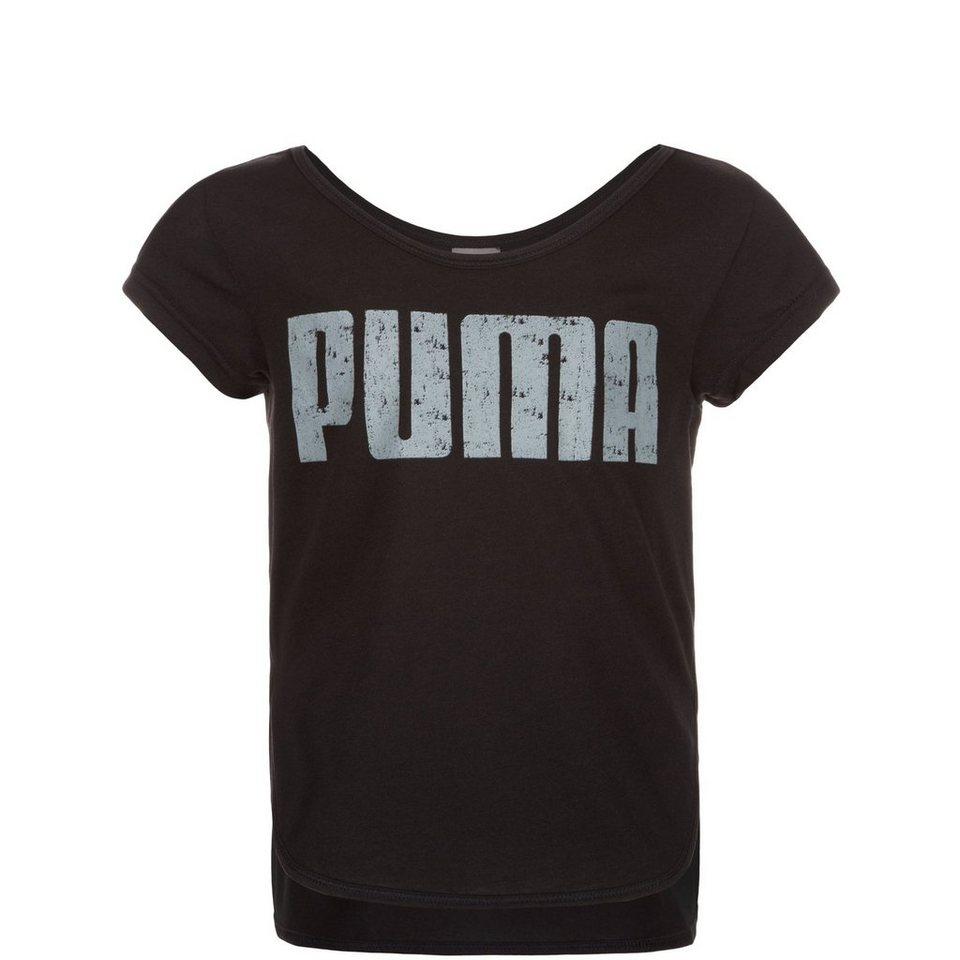 PUMA Active Dance Trainingsshirt Kinder in schwarz