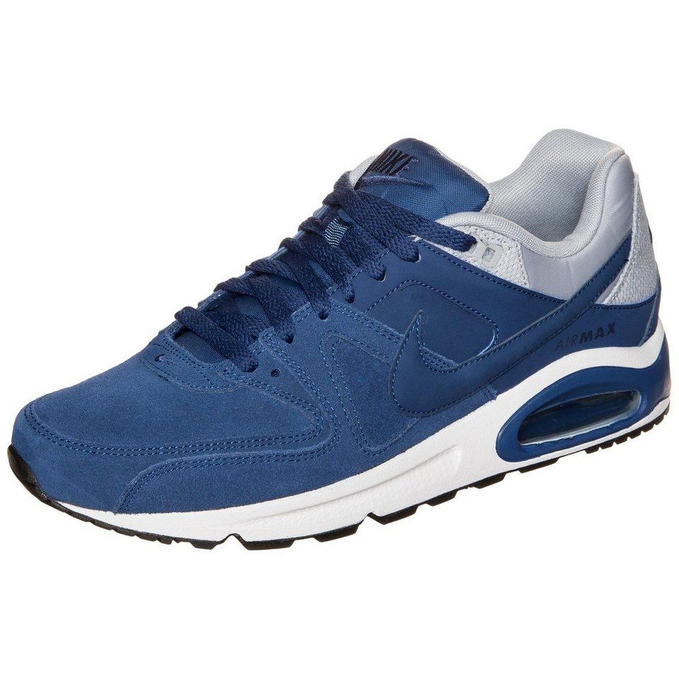 Nike Sportswear Air Max Command Leather Sneaker Herren in blau / grau / weiß