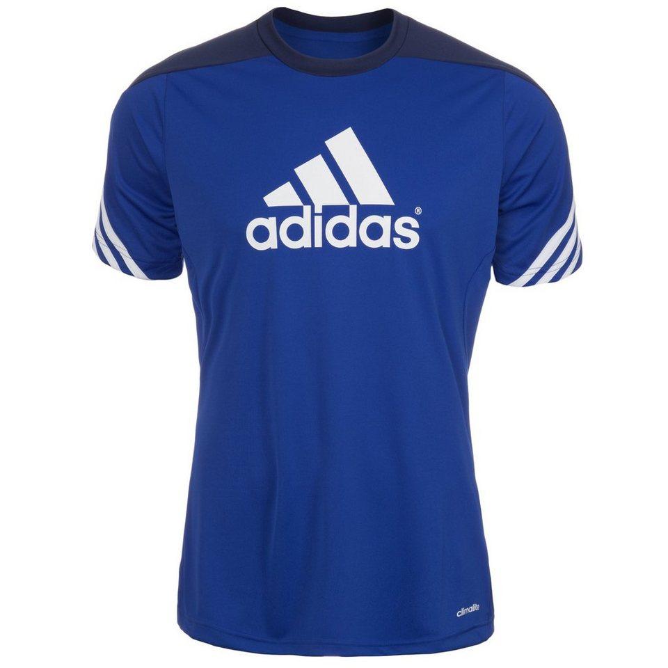 adidas Performance Sereno 14 Trainingsshirt Herren in blau / dunkelblau