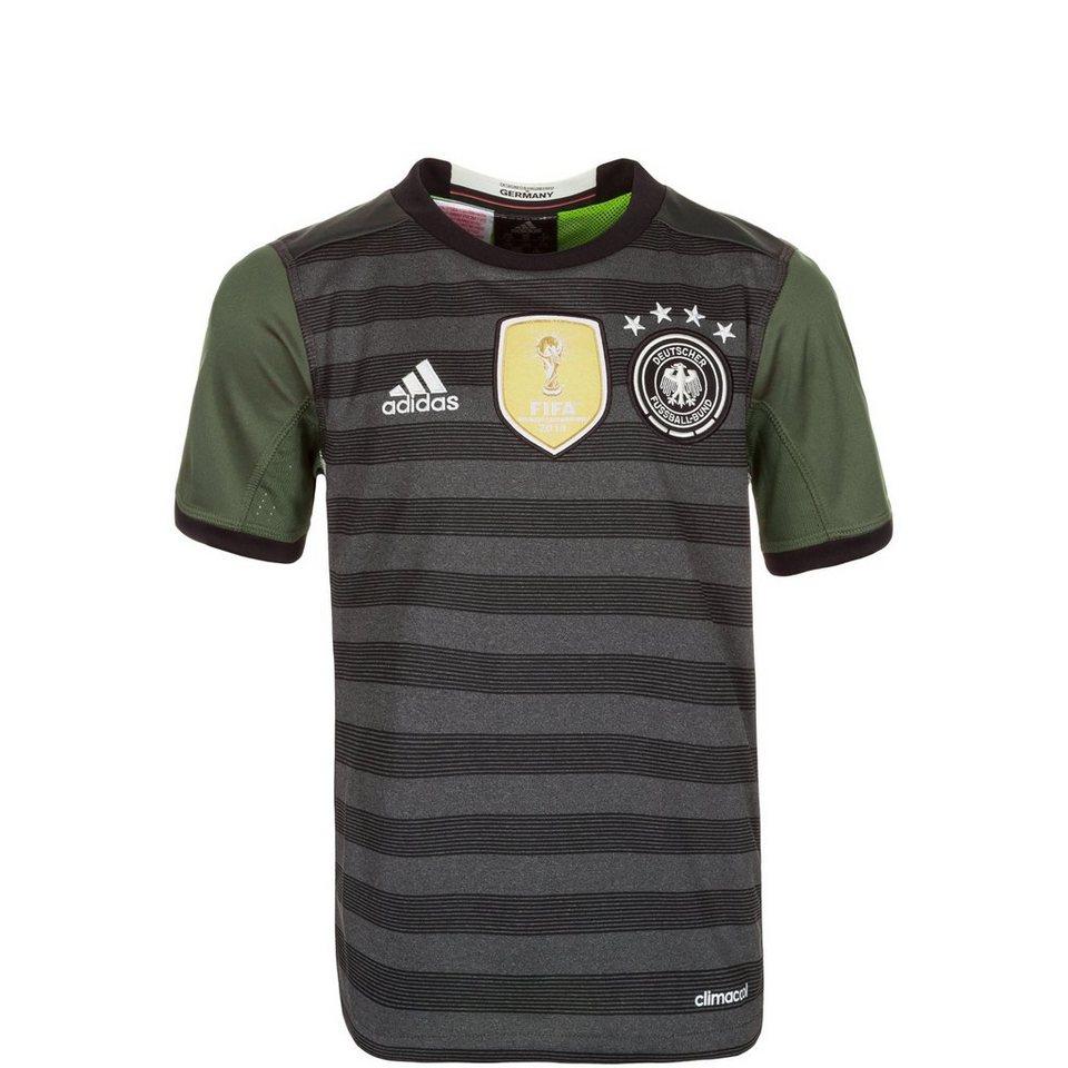adidas Performance DFB Trikot Away EM 2016 Kinder in grau / weiß / grün