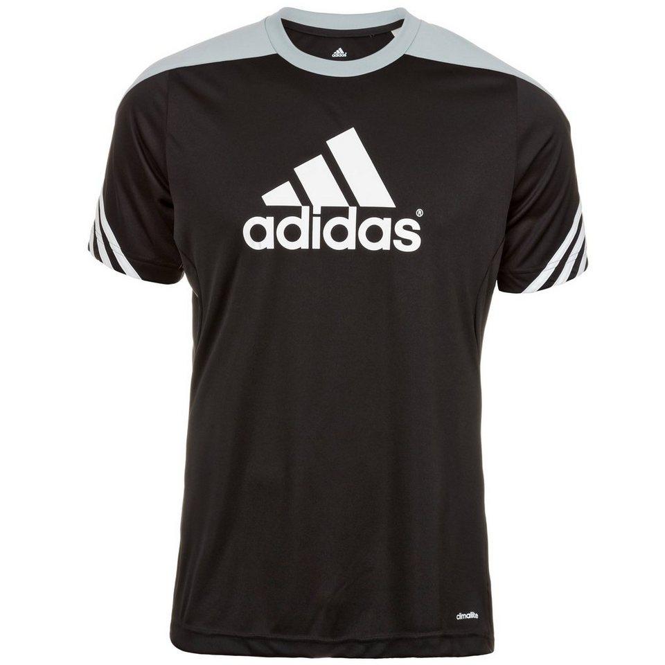 adidas Performance Sereno 14 Trainingsshirt Herren in schwarz / silber