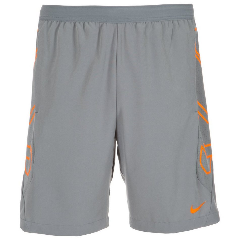 NIKE Vapor Short Herren in grau / orange
