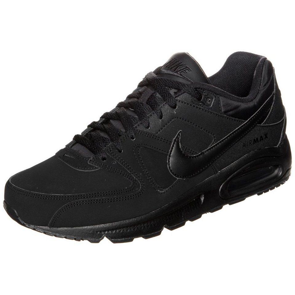 Nike Sportswear Air Max Command Leather Sneaker Herren in schwarz / anthrazit