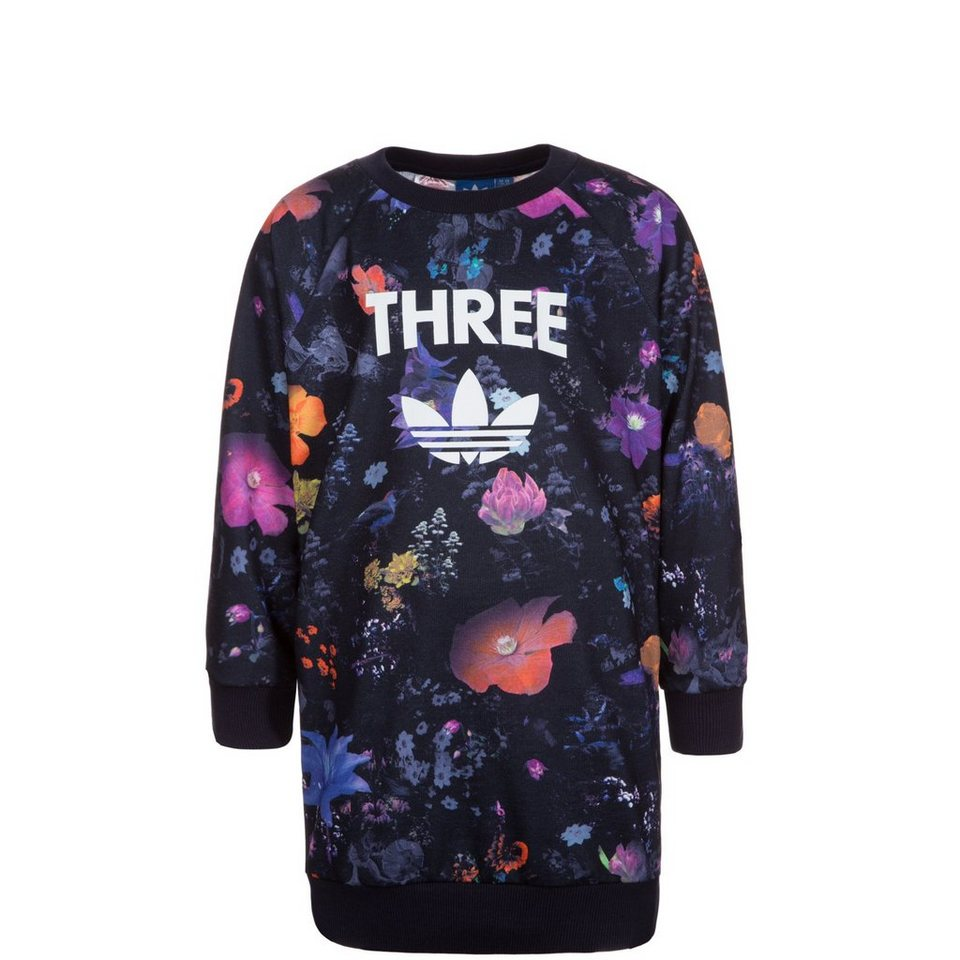 adidas Originals Basketball Allover Print Sweatshirt Kinder in bunt
