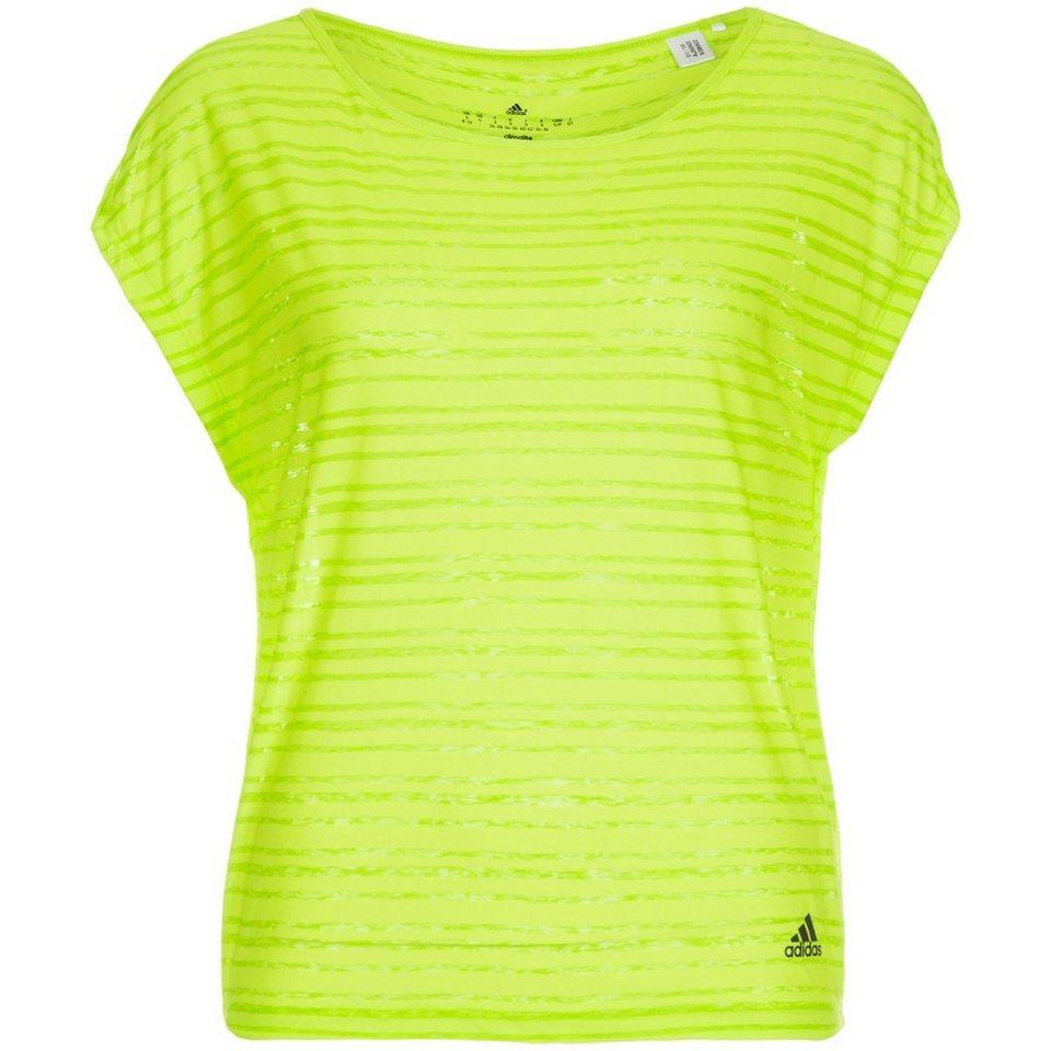 adidas Performance Lightweight Trainingsshirt Damen in grün