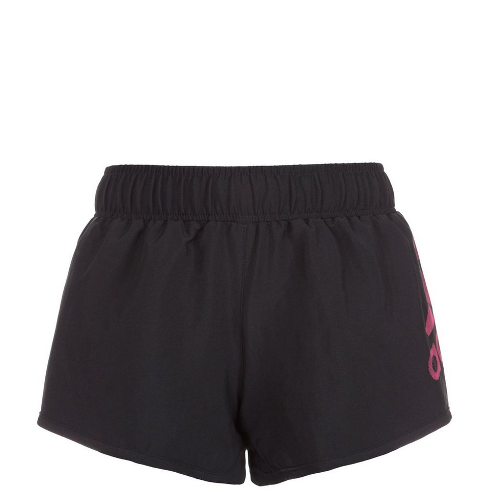 adidas Performance Infinite Series Marathon Laufshort Kinder in schwarz / pink