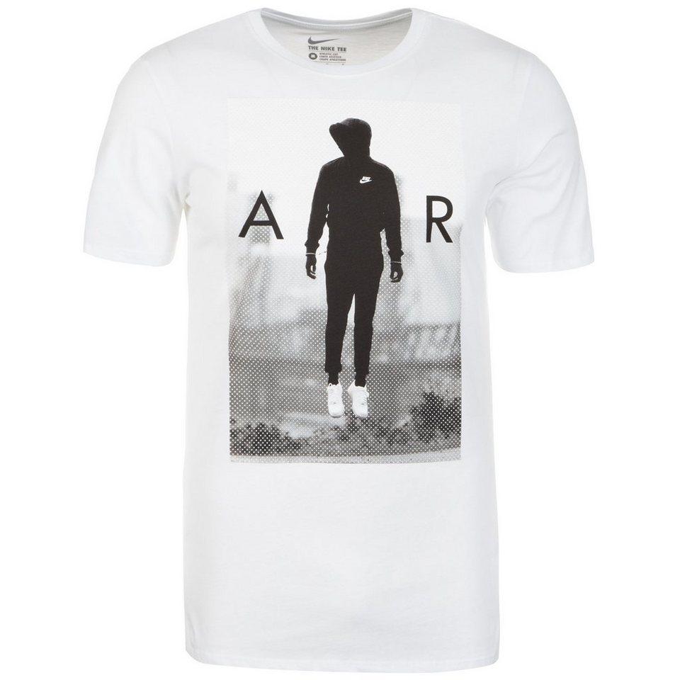 Nike Sportswear High On Air T-Shirt Herren in weiß / schwarz