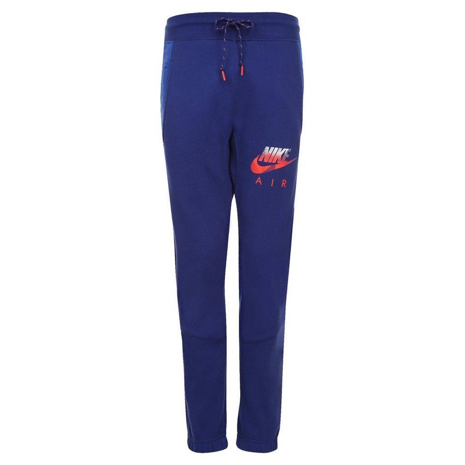 Nike Sportswear AW77 Fleece Cuffed Trainingshose Herren in dunkelblau / rot