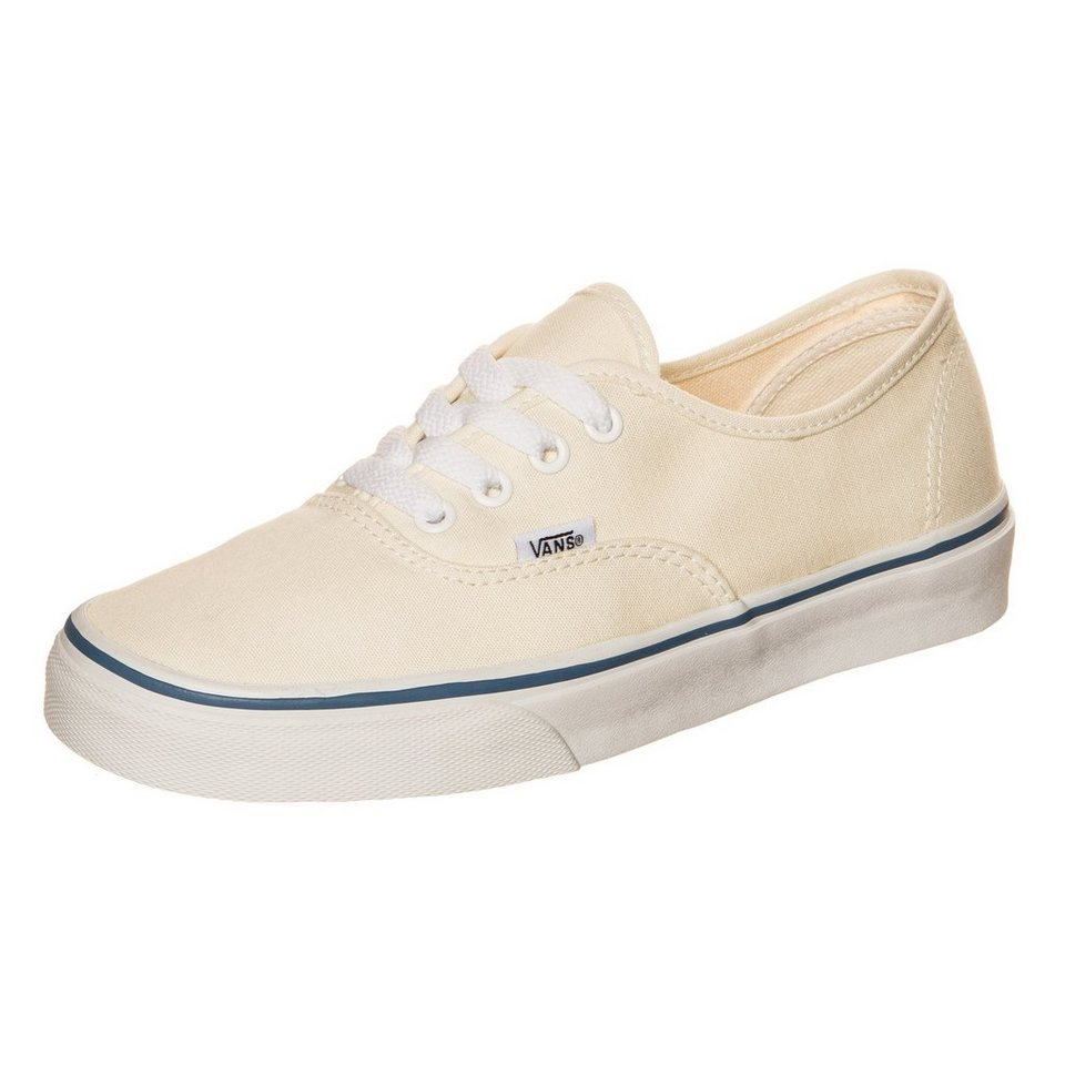 VANS Authentic Sneaker in creme / weiß