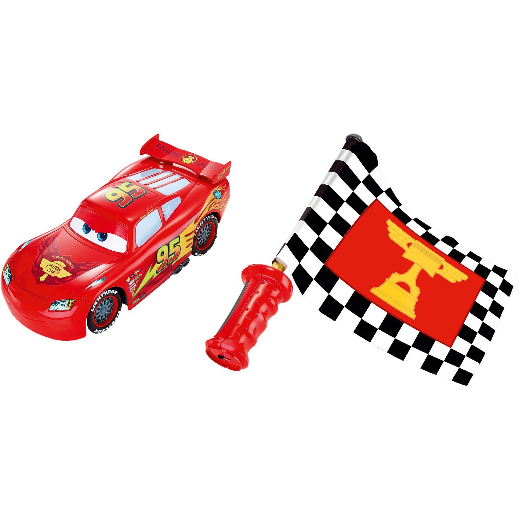 Mattel Disney Cars Flag Finish McQueen