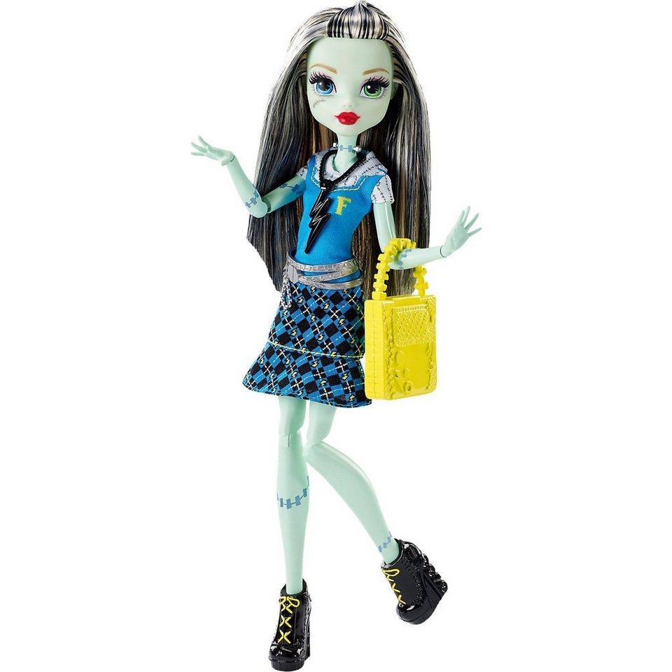 Mattel Monster High Todschicke Monsterschülerin Frankie