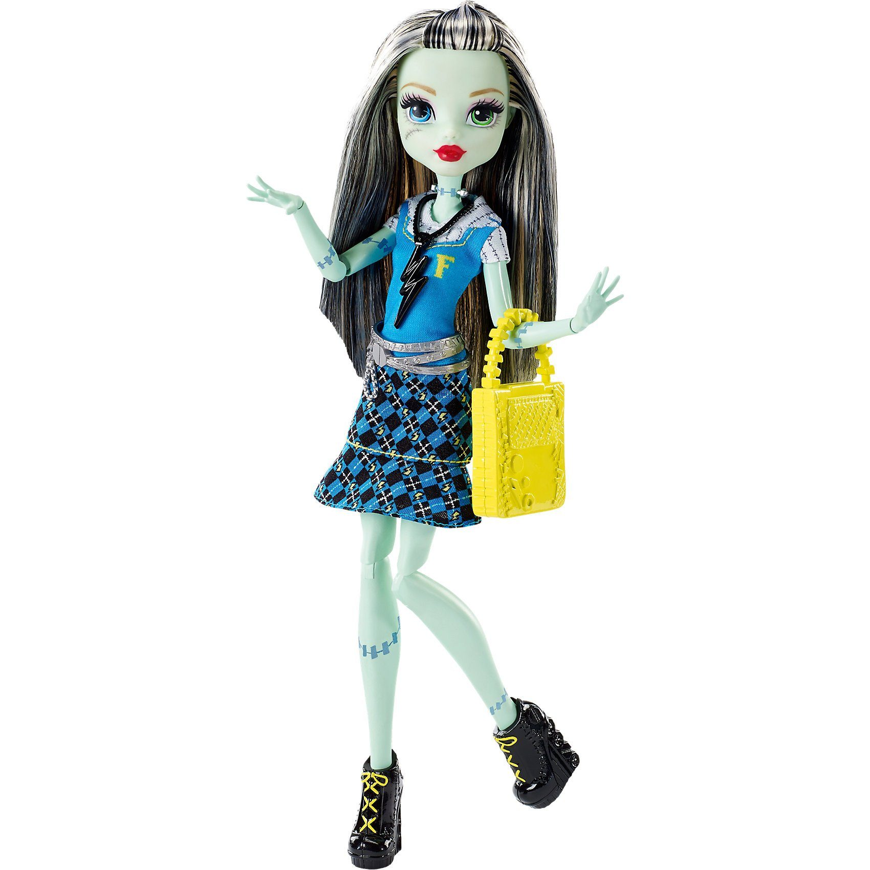 Mattel Monster High Todschicke Monsterschülerin Frankie