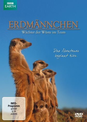 DVD »Erdmännchen - Wächter der Wüste im Team«