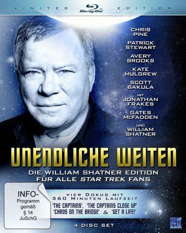 Blu-ray »Unendliche Weiten - Die William Shatner...«