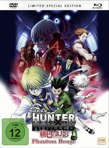 Blu-ray »Hunter x Hunter: Phantom Rouge (Mediabook + DVD)«