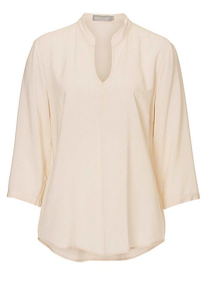 Betty&Co Bluse in beige - Braun