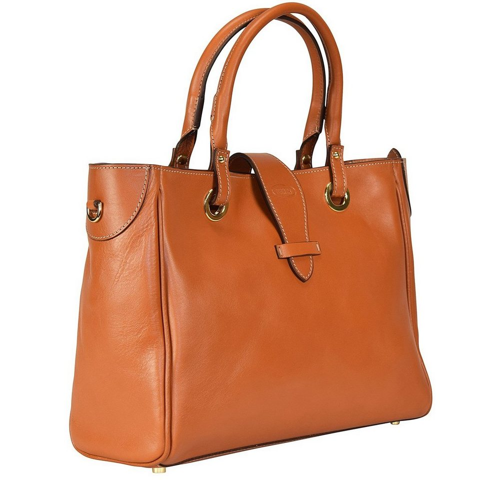 Bric's Life Pelle Shopper Tasche Leder 31 cm in leather