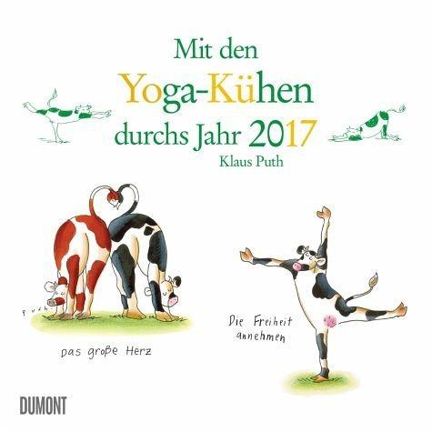 Kalender »Yoga für Kühe 2017«