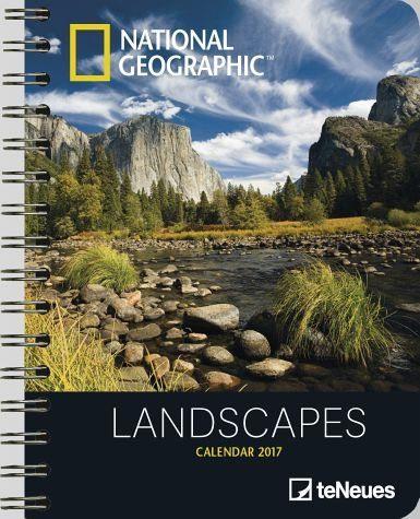 Kalender »National Geographic: Landscapes 2017...«