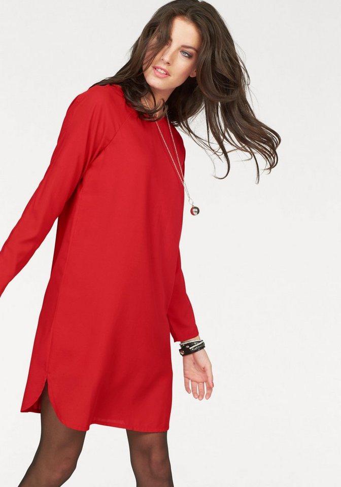 Aniston Etuikleid mit elegantem Rückenausschnitt in rot