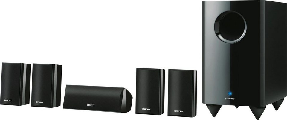 SKS-HT528 Lautsprecher-Set in schwarz