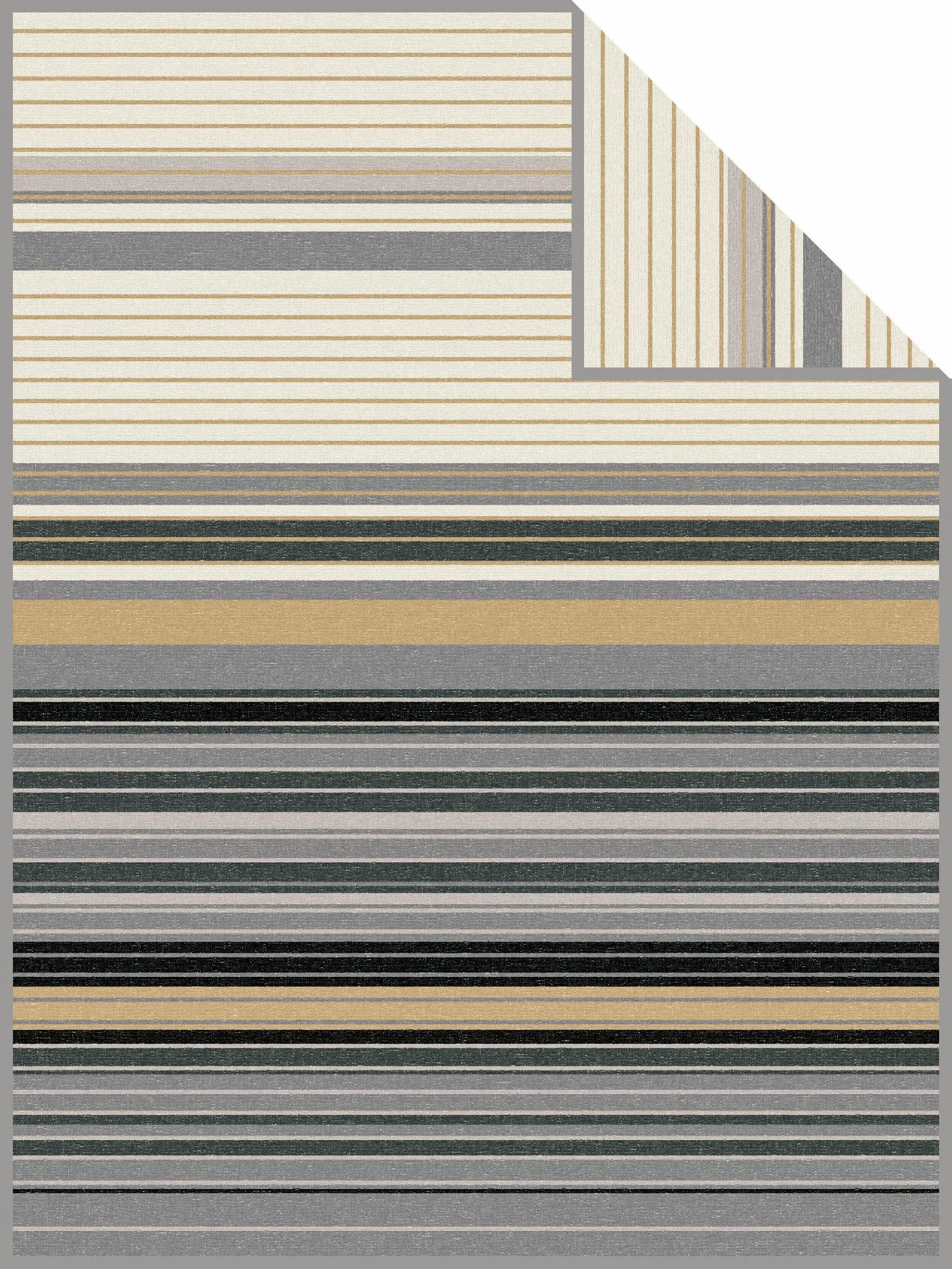 Wohndecke, bugatti, »File«, mit bunten Streifen
