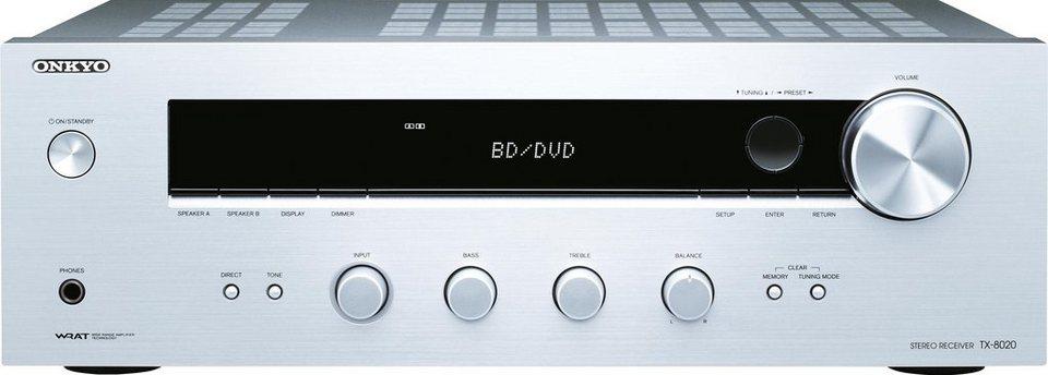 TX-8020 2 Audio-Receiver in silberfarben